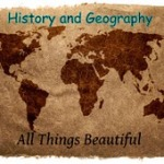 History and Geography Button